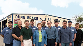 Dunns Auto Repair Team